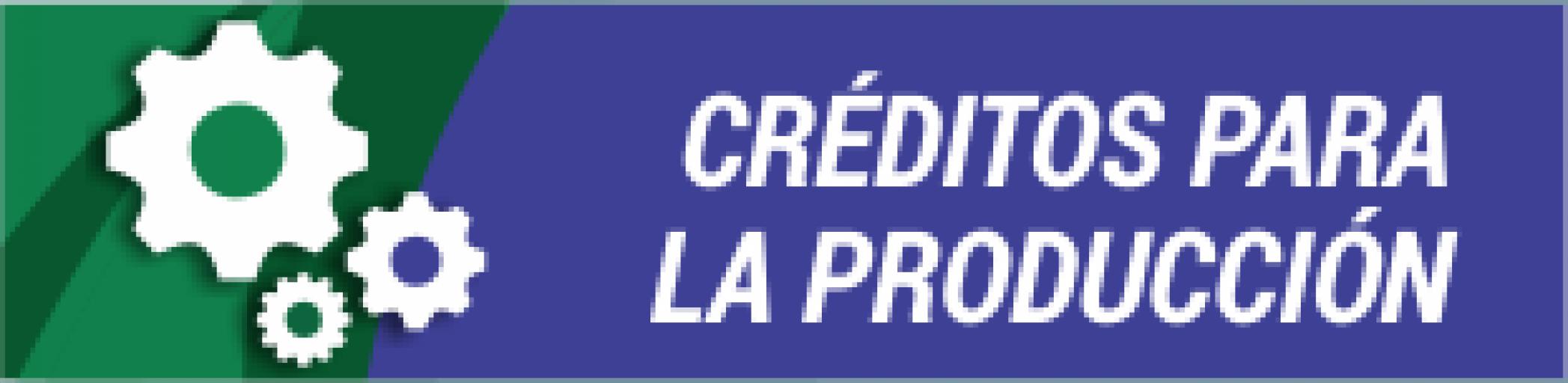 Créditos para la Producción