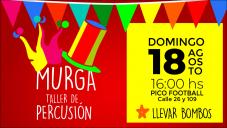MURGA - TALLER DE PERCUSIÓN