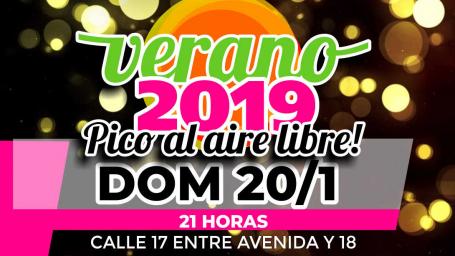 VERANO 2019 - Pico al Aire Libre!
