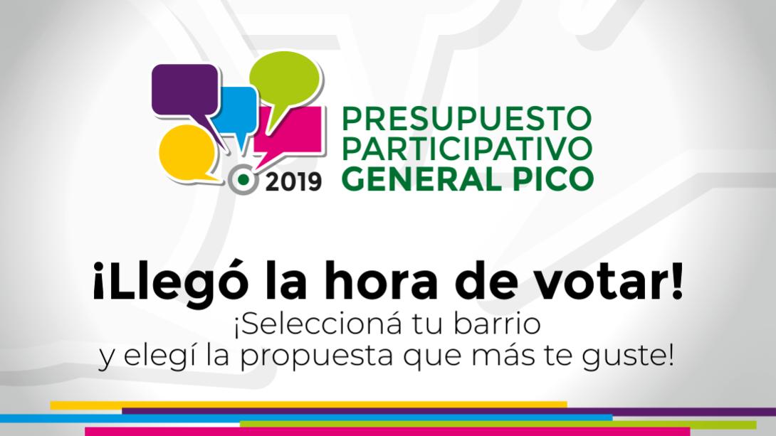 VOTACIÓN PPGP 2019