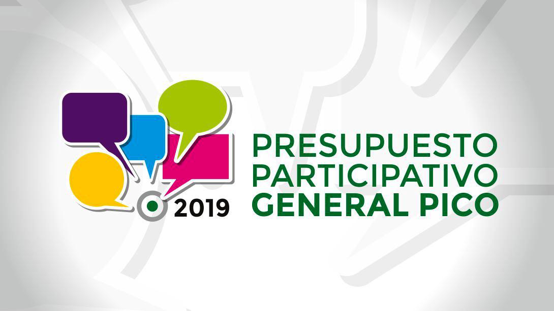 PRESUPUESTO PARTICIPATIVO 2019