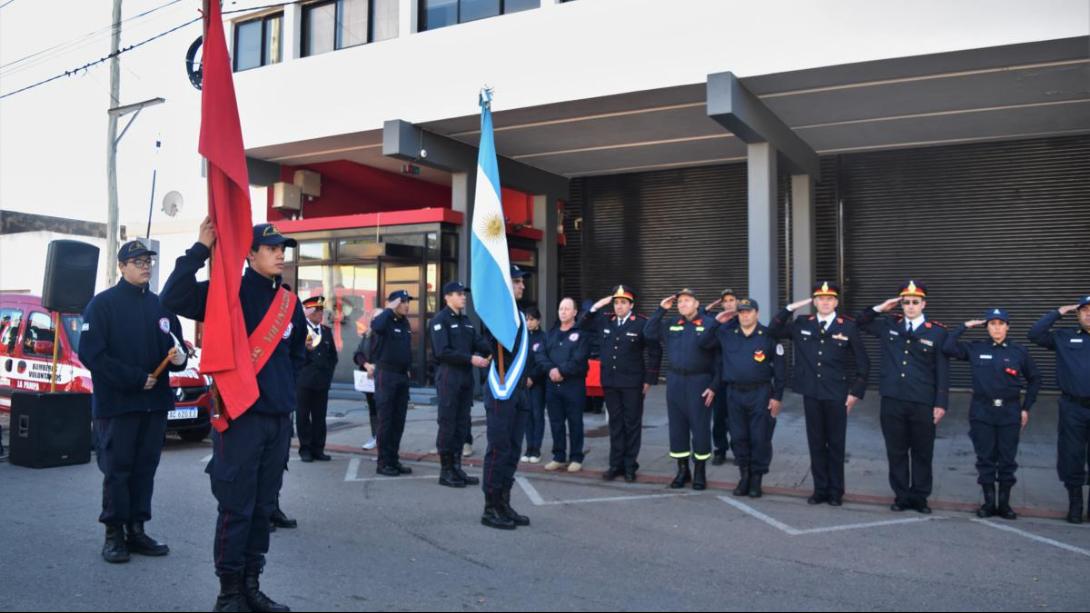 Conmemoraron el Día Nacional del Bombero Voluntario