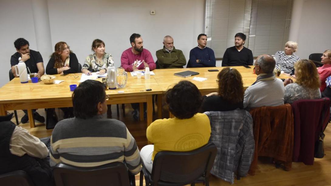 Nueva reunión del Consejo Interbarrial