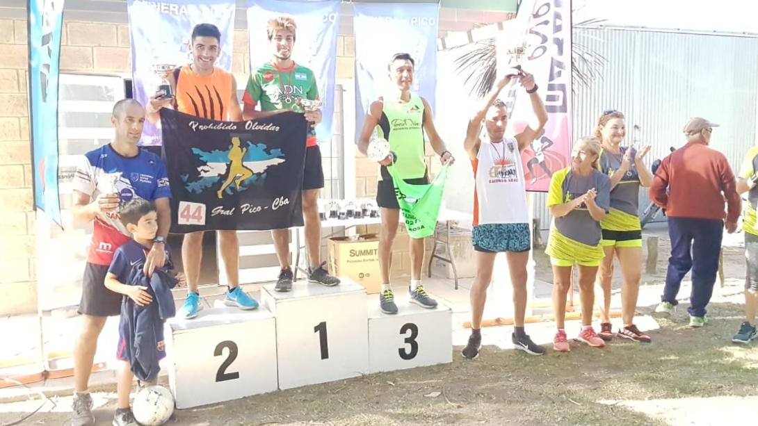 Más de 200 atletas en la segunda fecha del Pico Running