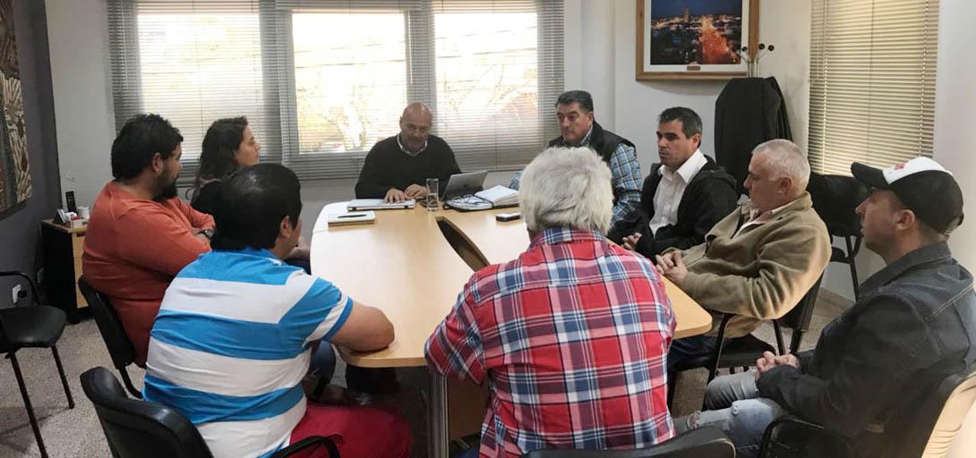 El intendente se reunió con las nuevas autoridades de la Planta de Segregación de Residuos