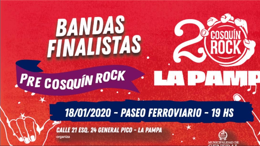 CUENTA REGRESIVA PARA EL FESTIVAL PRE COSQUÍN ROCK