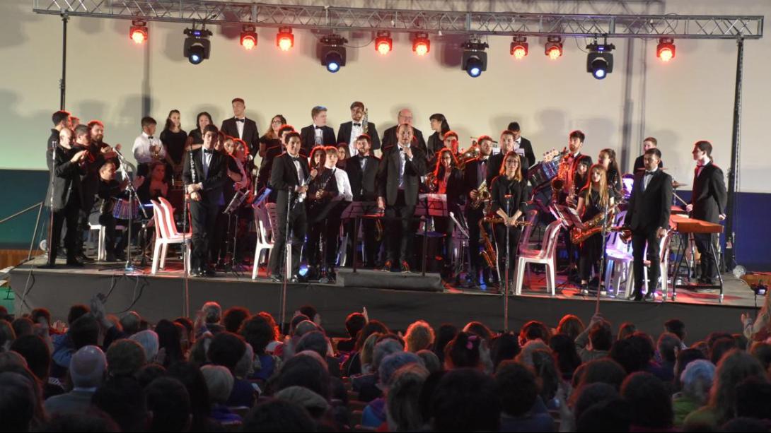 A sala llena, comenzó el 4º Festival de Vientos y Percusión