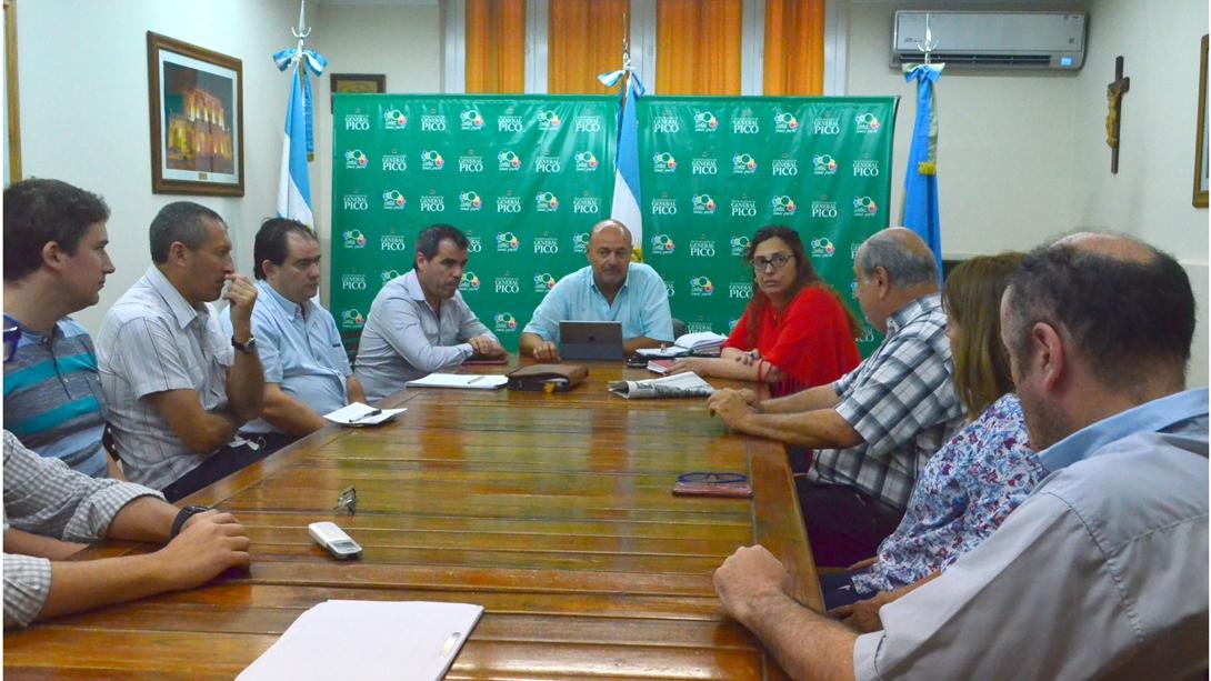 El intendente recibió a las nuevas autoridades de Corpico