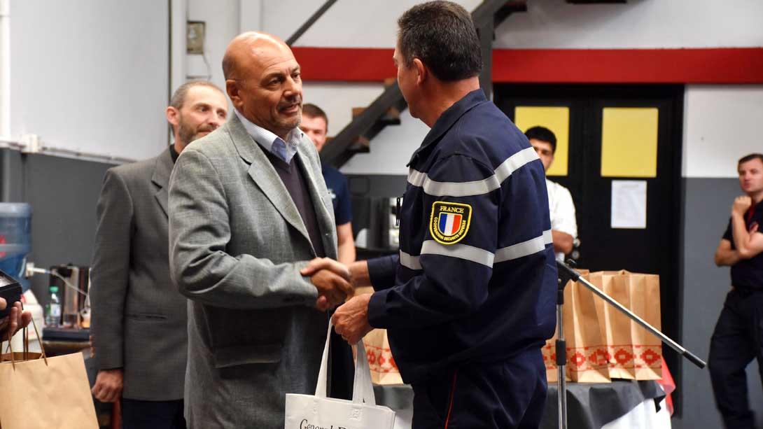 El intendente participó del cierre del importante taller de Riesgos Químicos