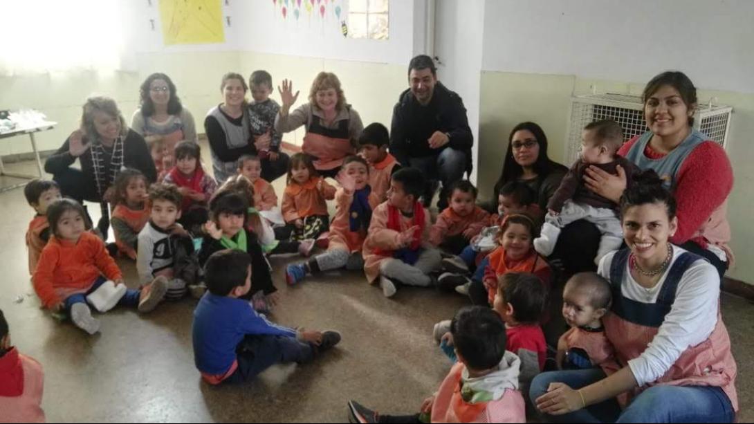 Dictaron un taller de perspectiva de género a padres del CDI Frutillitas