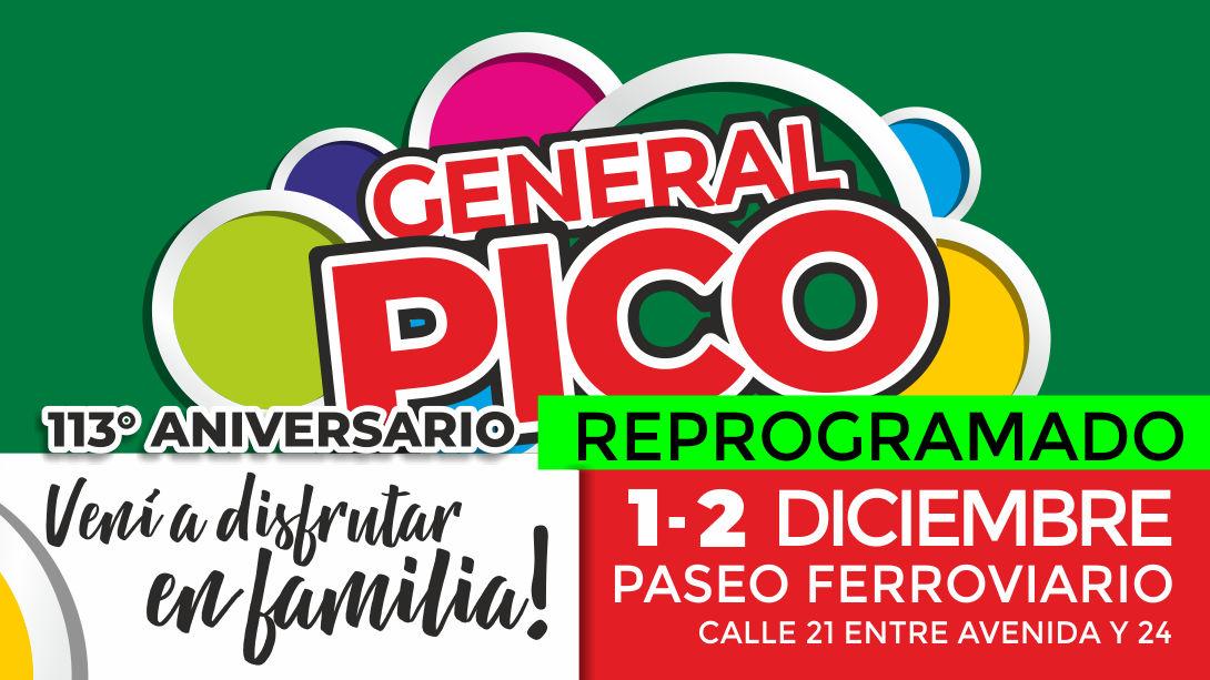 Reprograman el evento Aniversario de la ciudad para el 1 y 2 de diciembre