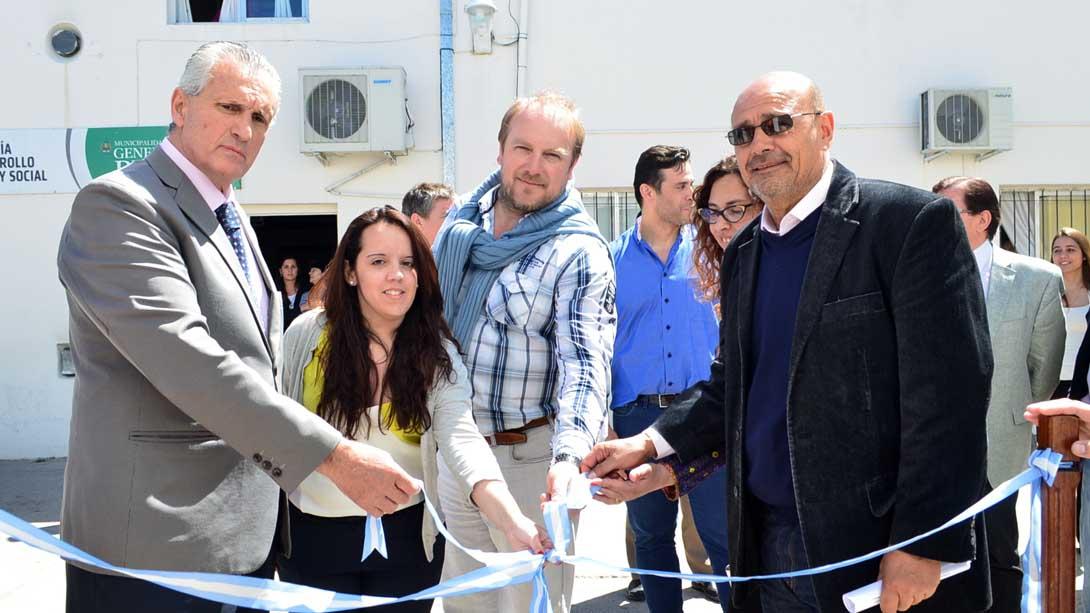 Inauguraron el Centro Nacional de Licencias de Conducir