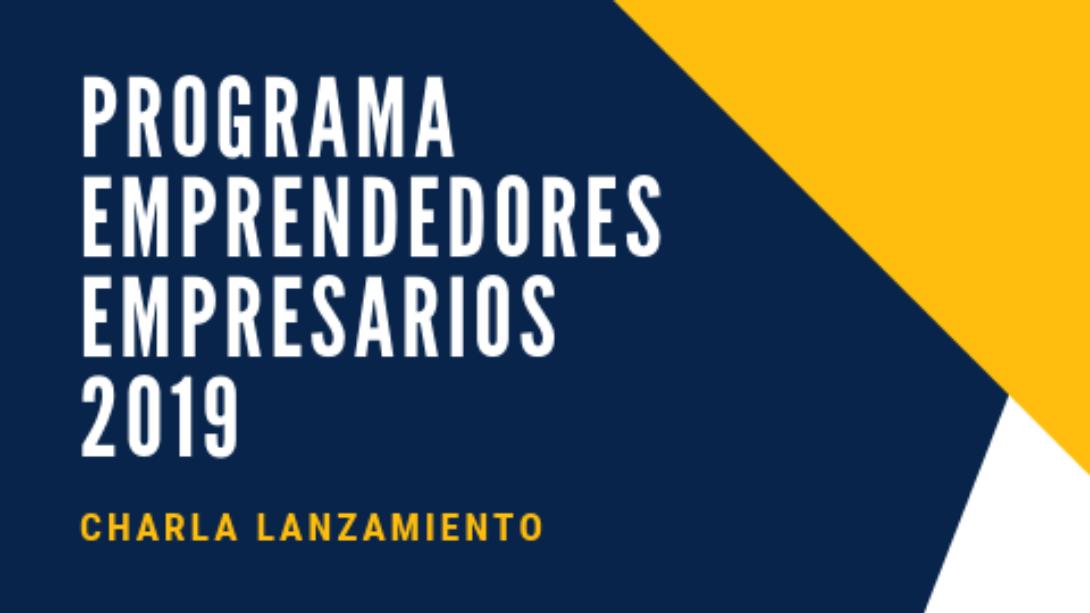 Lanzamiento del programa Emprendedores Empresarios 2019: La Fundación para el Desarrollo Regional brindará una charla para emprendedores y PyMEs