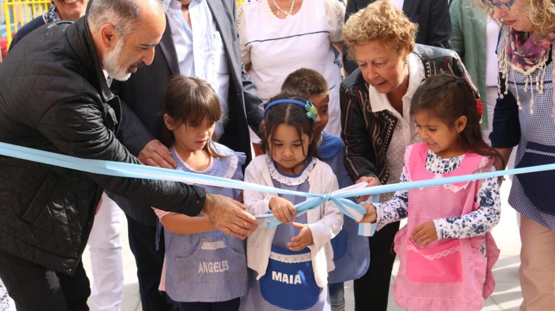 Quedó inaugurada la ampliación y refacción de la Escuela N° 12