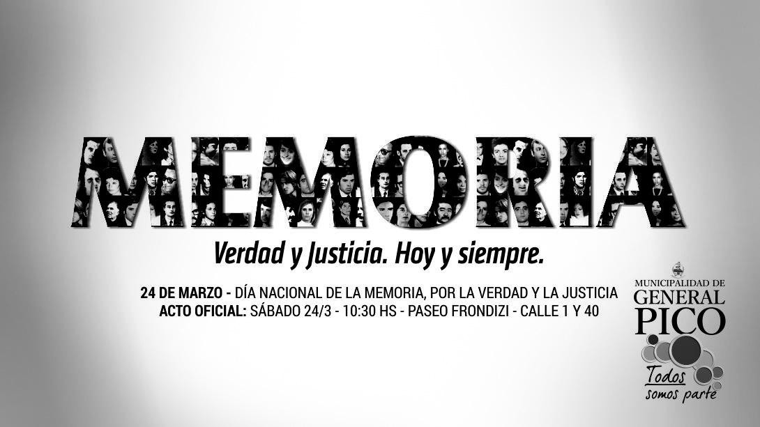 Acto Día de La Memoria por la Verdad y la Justicia