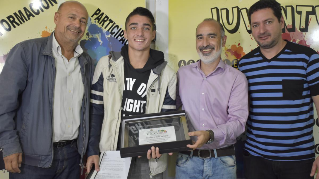 Matías Palacios es ciudadano destacado