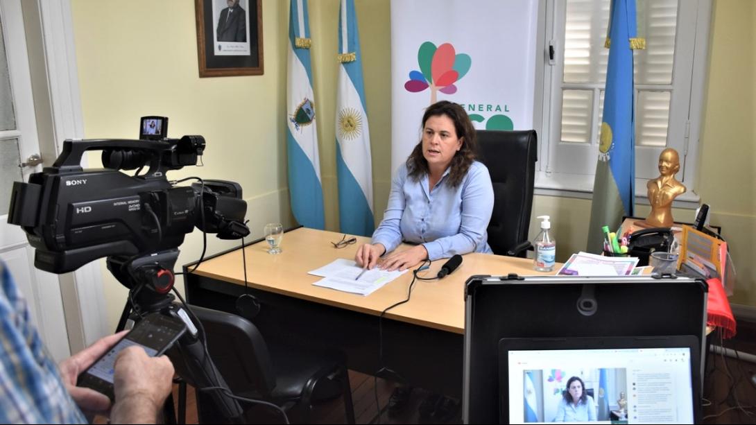 ALONSO PRESENTÓ UN NUEVO CANAL PARA COMUNICARSE CON LA MUNICIPALIDAD