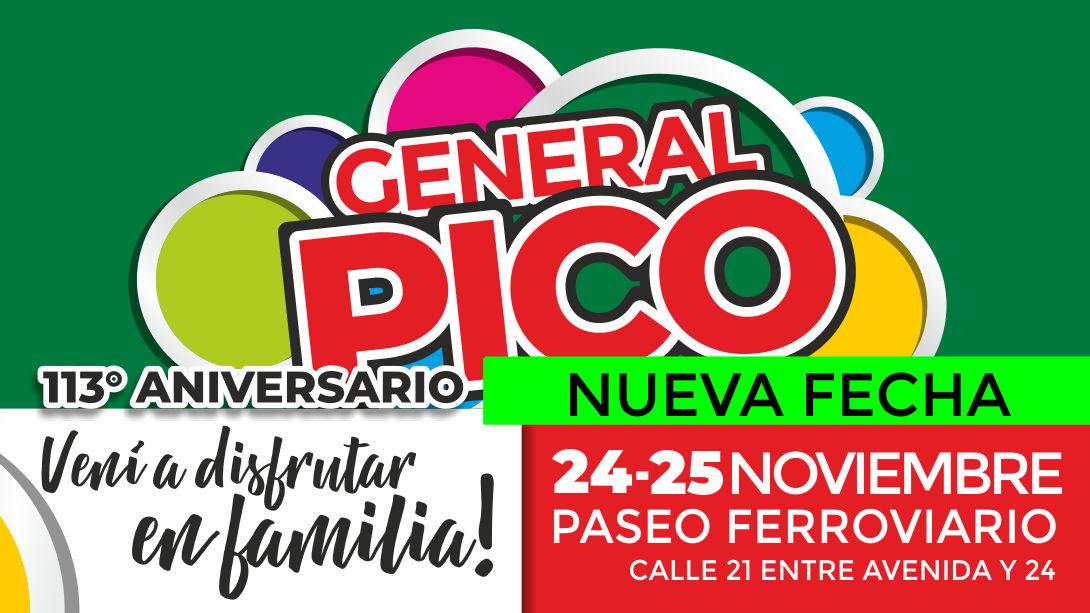 El festejo por el Aniversario de la ciudad será el próximo 24 y 25 de noviembre
