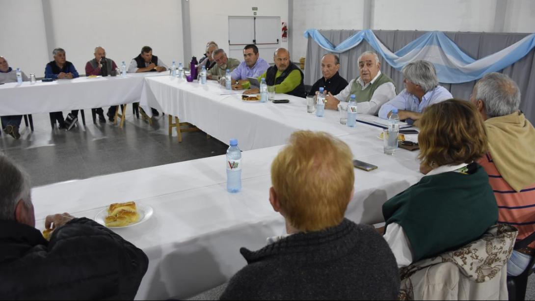Intendentes de la Región II se reunieron en Ceballos