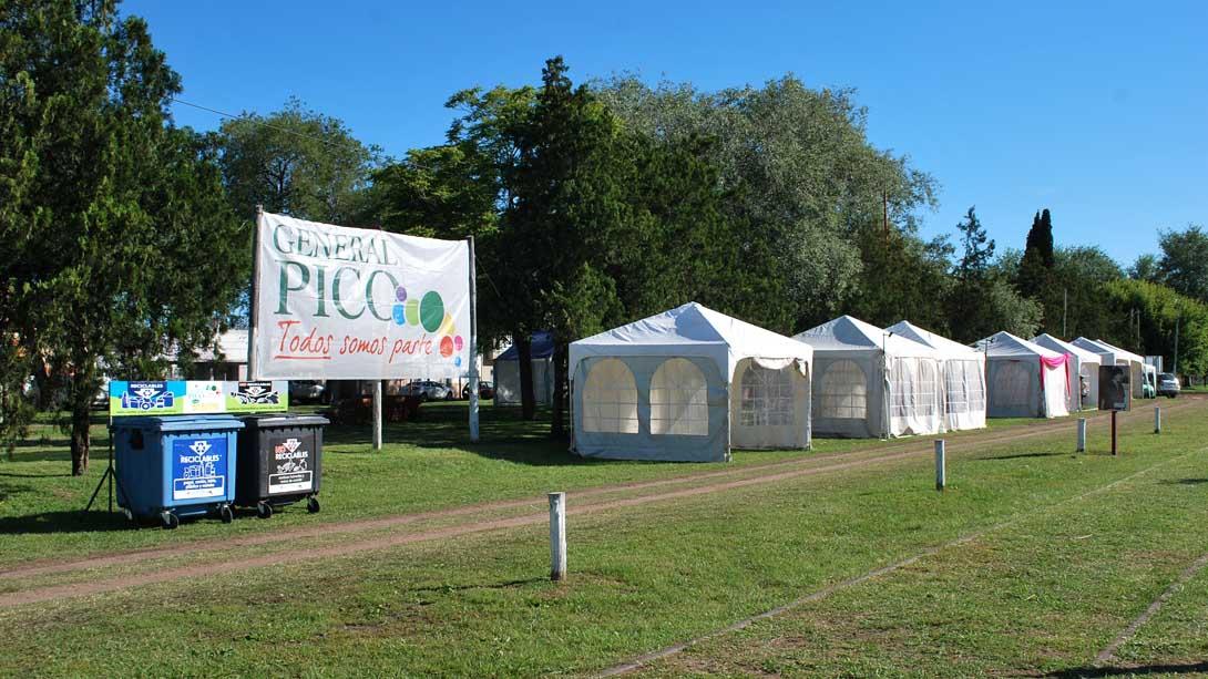 Comenzaron los preparativos para la Fiesta de Pico