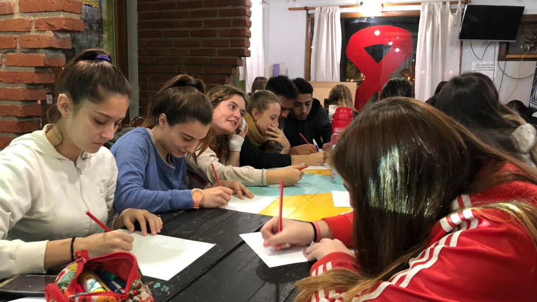 Exitoso taller de orientación vocacional en Juventud