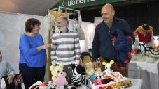 Exitosa Feria de Emprendedores en vísperas del Día del Amigo