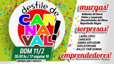Este domingo llega el Desfile de Carnaval