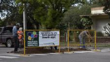 El municipio avanza en la construcción de obras de Presupuesto Participativo