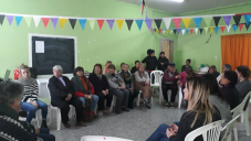Dictaron un taller de Salud y Vejez en barrio Energía y Progreso