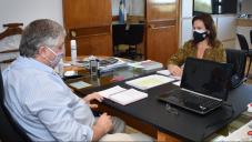 ALONSO Y MORALEJO TRATARON  TEMAS VINCULADOS  CON LA PRODUCCIÓN