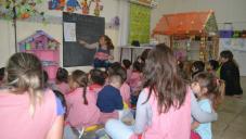 Los Centros de Desarrollo Infantil realizan actividades por mes de la Niñez