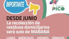 IMPORTANTE CAMBIO EN LA RECOLECCIÓN DOMICILIARIA