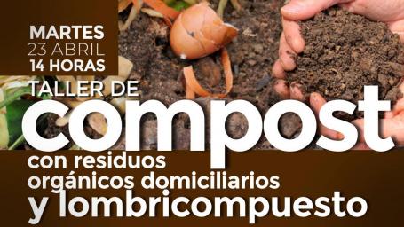 Dictarán taller de compostaje y lombricompuesto