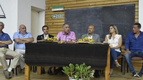 El intendente dio la bienvenida a nuevos estudiantes de la Facultad de Ciencias Veterinarias