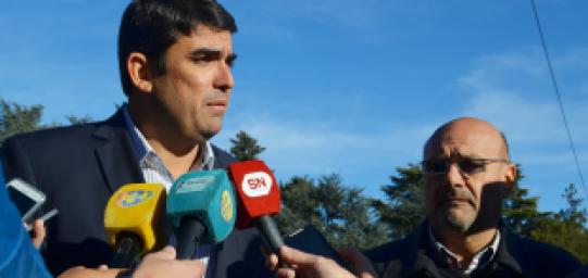 RAINONE INAUGURÓ LA DELEGACIÓN DEL REGISTRO CIVIL JUNTO AL MINISTRO DE GOBIERNO Y JUSTICIA