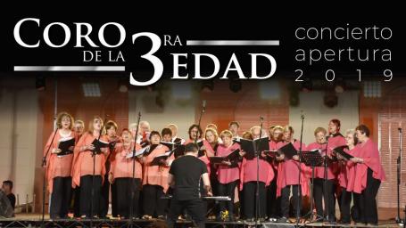 """El Coro de la 3ra Edad realizará su """"Concierto Apertura 2019"""""""