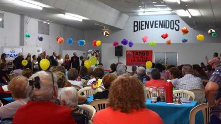 El intendente participó del cierre anual de actividades de personas mayores