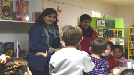 Continúa desarrollándose el taller denominado 'Niños escritores'