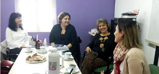 El Hogar de Madres recibió a referentes del Consejo Nacional de Mujeres