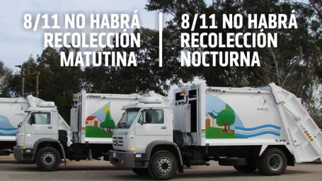 Por el Día de Empleado Municipal se modifica la recolección domiciliaria de residuos