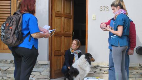 Ya está en marcha la campaña de vacunación y castración en el  barrio El Molino