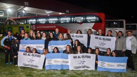 JUEGOS NACIONALES EVITA: Más de 200 deportistas partieron a Mar del Plata