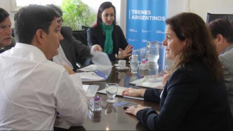 ALONSO SE REUNIÓ CON FUNCIONARIOS DE TRENES ARGENTINOS