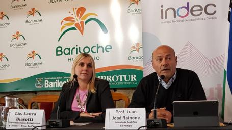 Rainone participó de importante encuentro de estadísticas en Bariloche