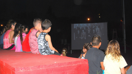 El cine presente en los barrios de la ciudad