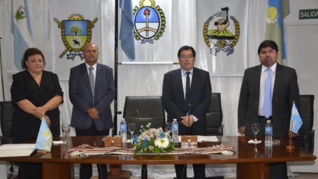 Rainone dejó inaugurado el Período Ordinario de Sesiones del Concejo Deliberante
