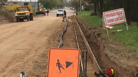 Finalizaron el proyecto de niveles de cordón cuneta para el barrio a Denominar 1