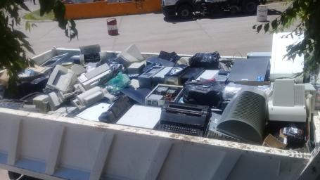 El municipio envió a Córdoba 2 toneladas de residuos electrónicos acopiados