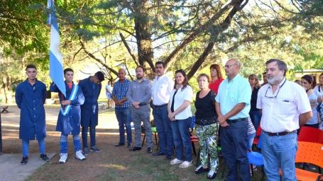 El intendente participó del acto de entrega de certificados del politécnico 'Arturo Ferrero'
