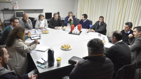 Reunión interinstitucional de Ordenamiento Periurbano